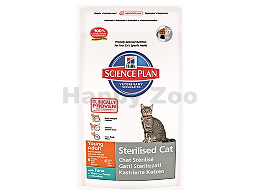 HILLS Feline Young Adult Sterilised Cat Tuna 1,5kg