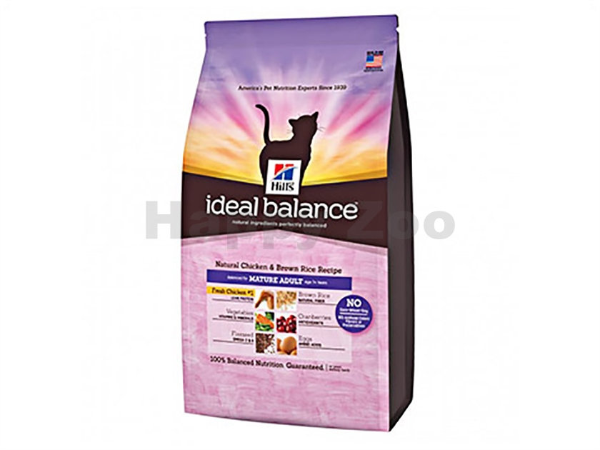 HILLS Ideal Balance Feline Mature Chicken and Brown Rice 2kg