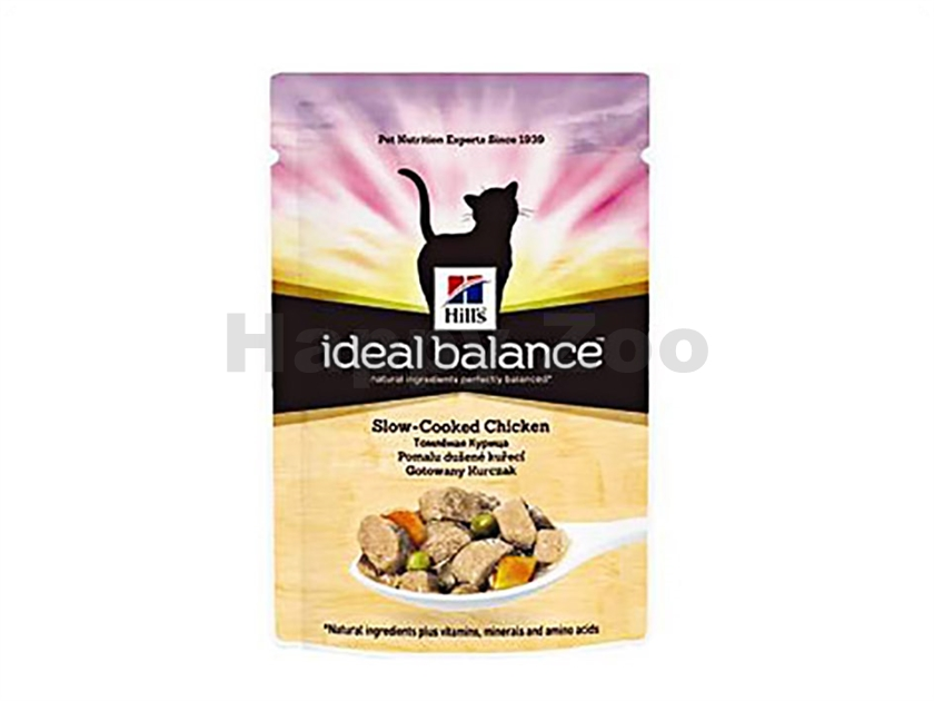 Kapsička HILLS Ideal Balance Feline Chicken 85g