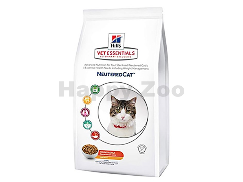 HILLS Feline VetEssentials Neutered Young Adult 1,5kg
