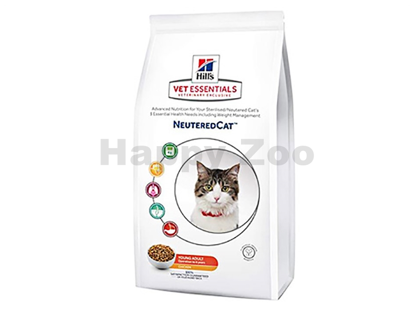 HILLS Feline VetEssentials Neutered Young Adult 3kg