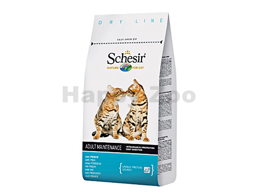 SCHESIR Cat Adult Fish 400g