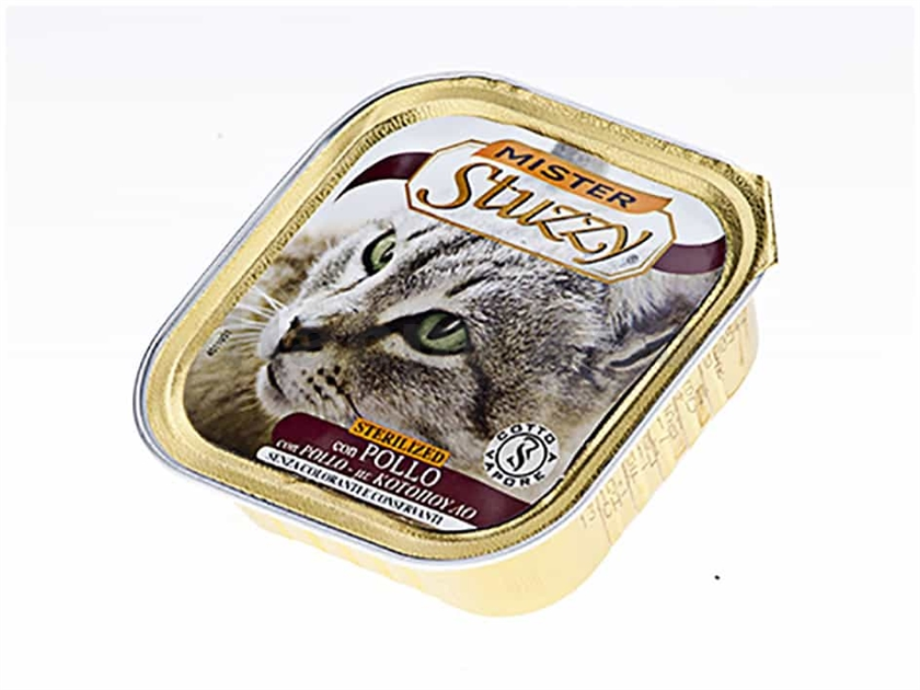 Paštika STUZZY Mister Cat Sterilised 100g
