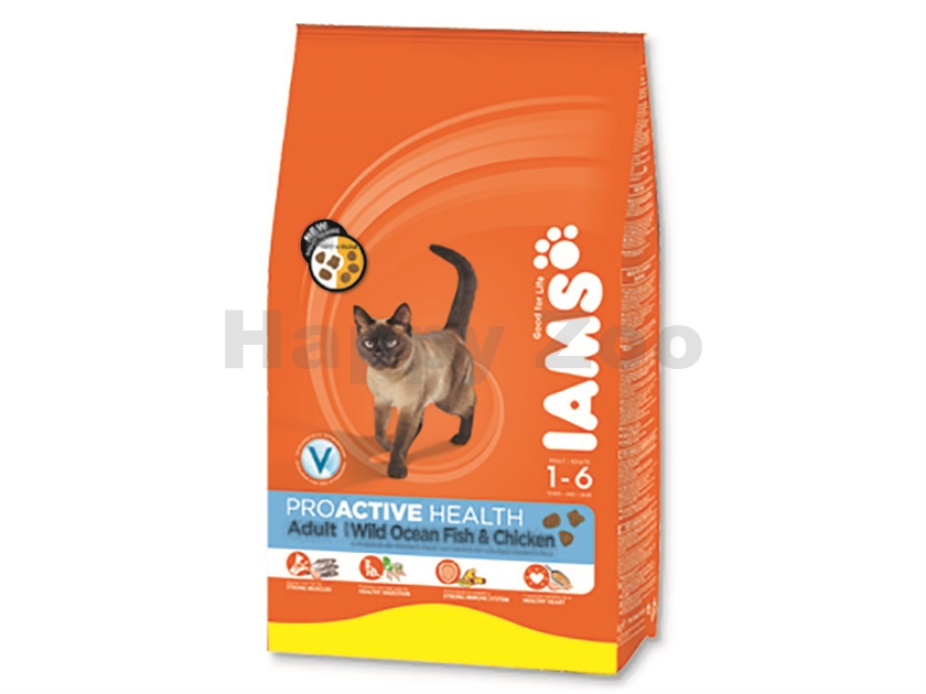 IAMS Cat Adult Ocean Fish & Chicken 1,5kg