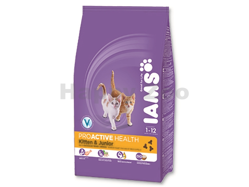 IAMS Cat Kitten & Junior Chicken 2,55kg