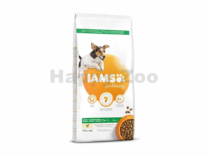 IAMS for Vitality Dog Adult Small & Medium Chicken 12kg