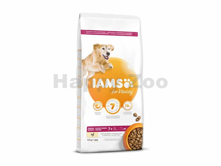 IAMS for Vitality Dog Senior Large Chicken 12kg