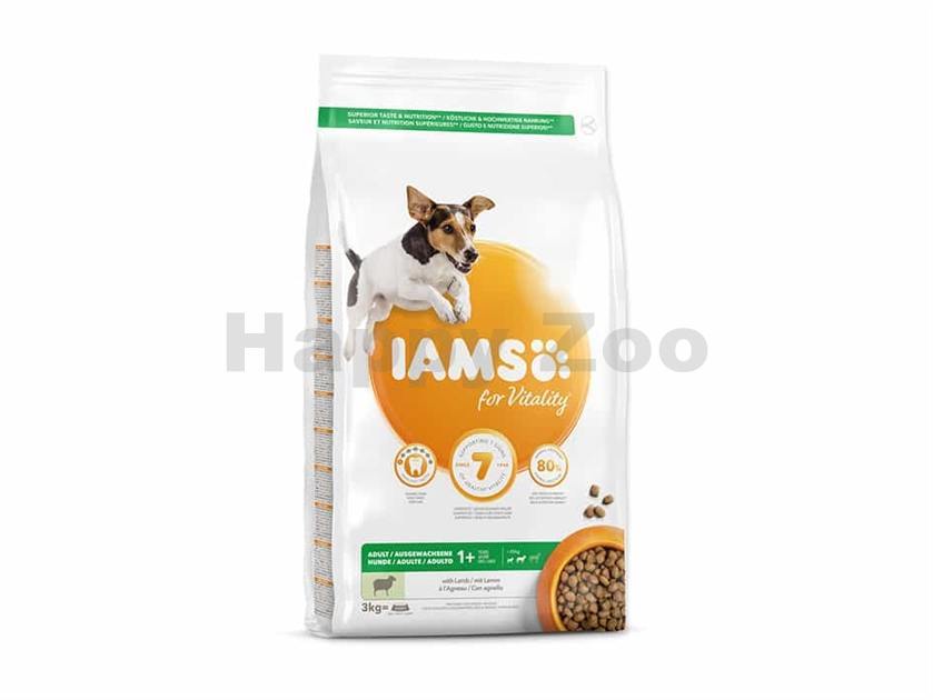 IAMS for Vitality Dog Adult Small & Medium Lamb 3kg