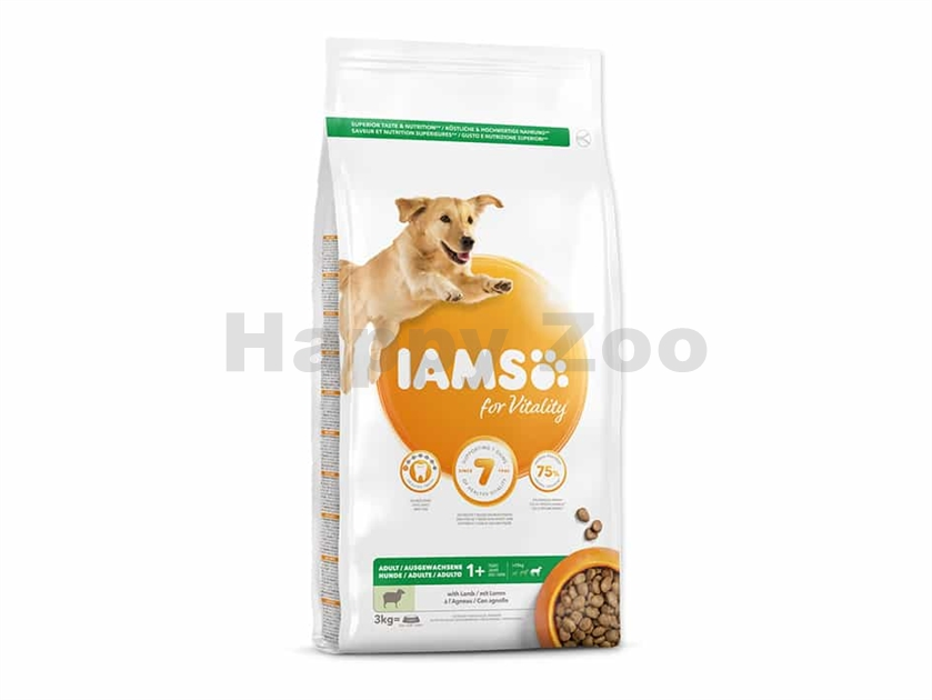 IAMS for Vitality Dog Adult Large Lamb 3kg