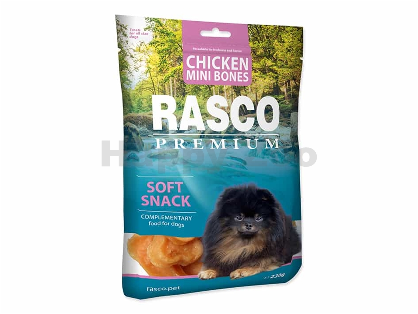 RASCO Premium Chicken Mini Bones 230g