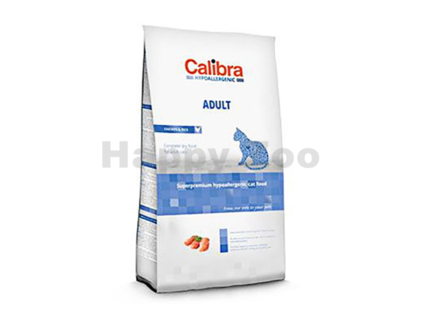 CALIBRA Cat Hypoallergenic Adult Chicken & Rice 7kg