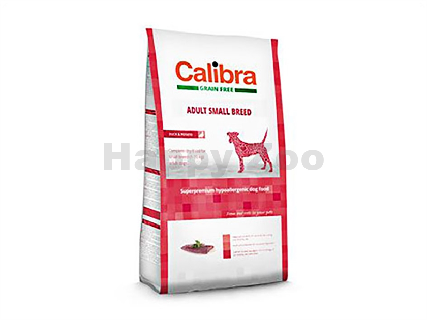 CALIBRA Dog Grain Free Adult Small Breed Duck & Potato 7kg
