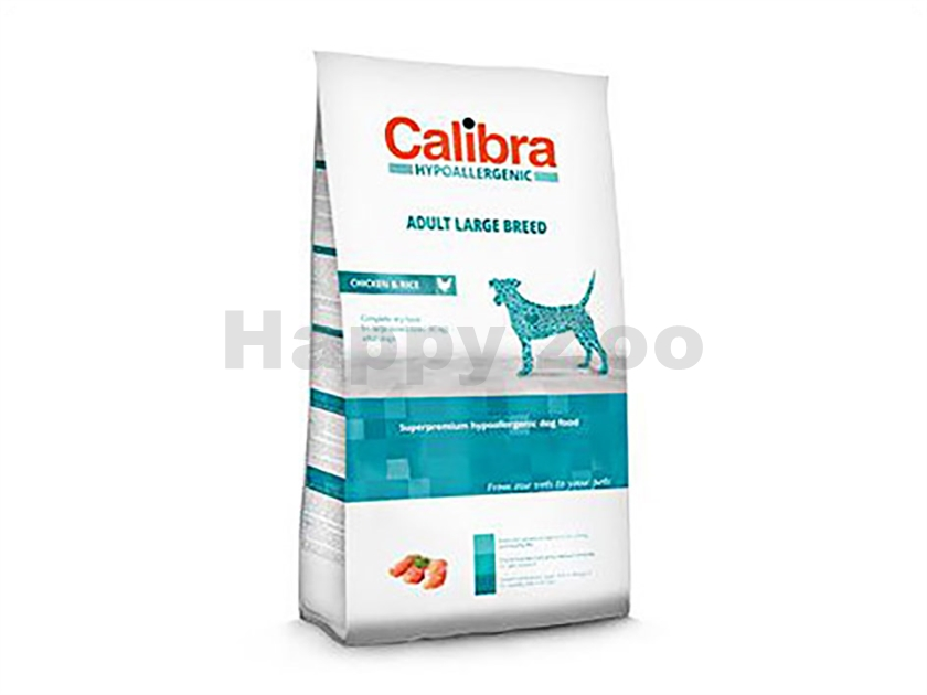 CALIBRA Dog Hypoallergenic Adult Large Breed Chicken & Rice 3kg