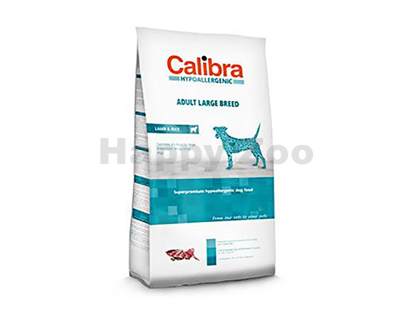 CALIBRA Dog Hypoallergenic Adult Large Breed Lamb & Rice 3kg