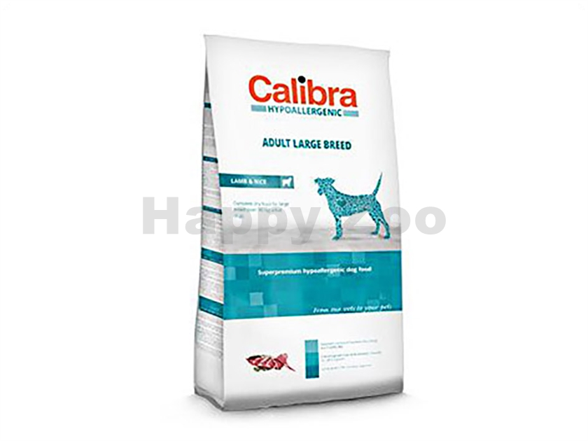 CALIBRA Dog Hypoallergenic Adult Large Breed Lamb & Rice 14kg