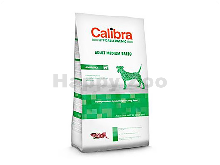 CALIBRA Dog Hypoallergenic Adult Medium Breed Lamb & Rice 3kg