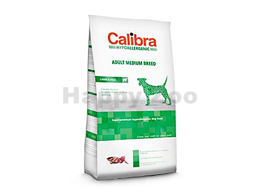 CALIBRA Dog Hypoallergenic Adult Medium Breed Lamb & Rice 14kg