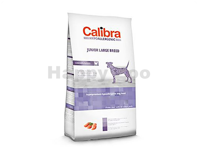 CALIBRA Dog Hypoallergenic Junior Large Breed Chicken & Rice 3kg