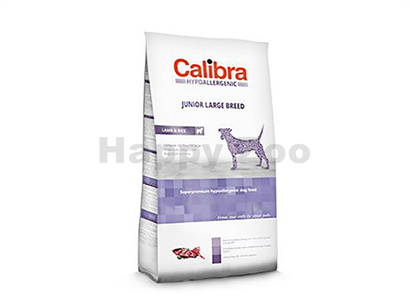 CALIBRA Dog Hypoallergenic Junior Large Breed Lamb & Rice 3kg