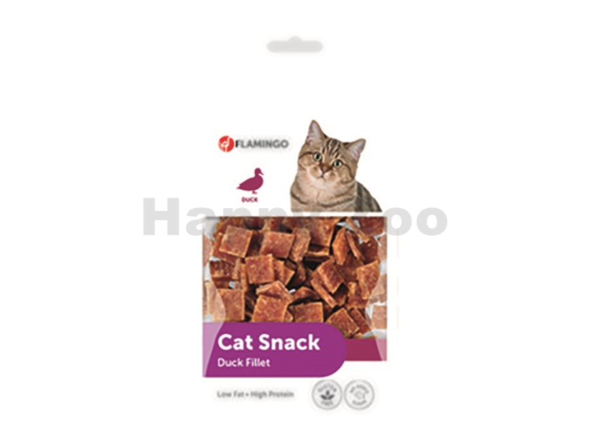 FLAMINGO Cat Snack Duck Fillet 50g