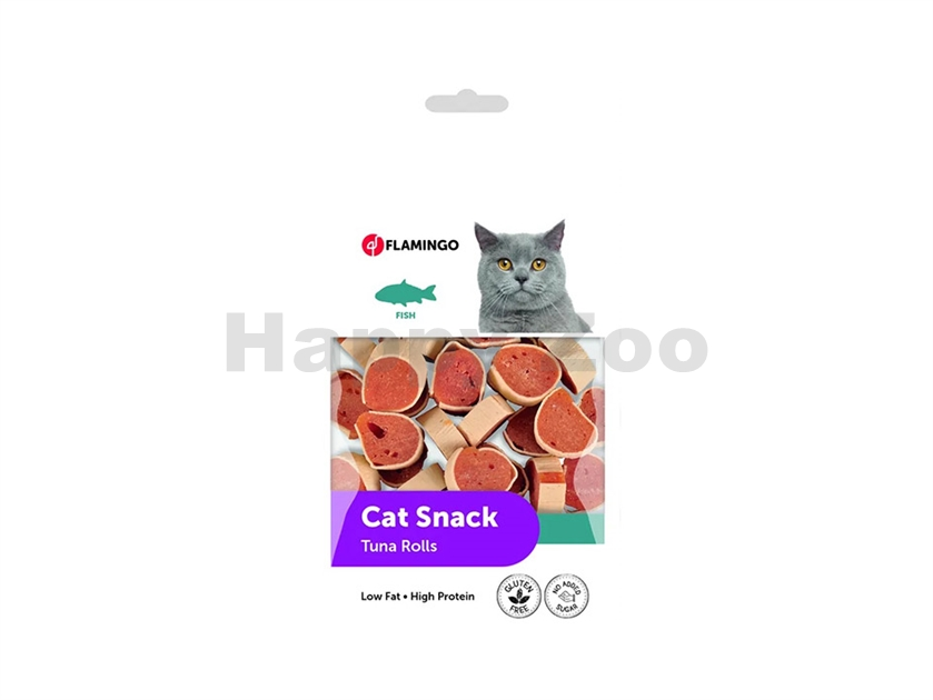 FLAMINGO Cat Snack Tuna Rolls 50g