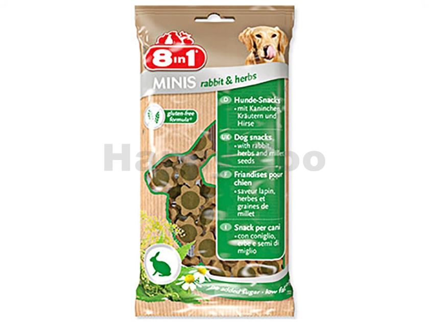 8in1 Minis Rabbit and Herbs 100g