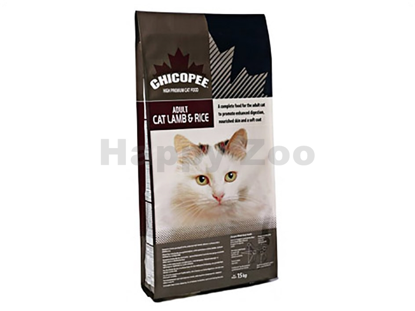 CHICOPEE Adult Cat Lamb and Rice 15kg