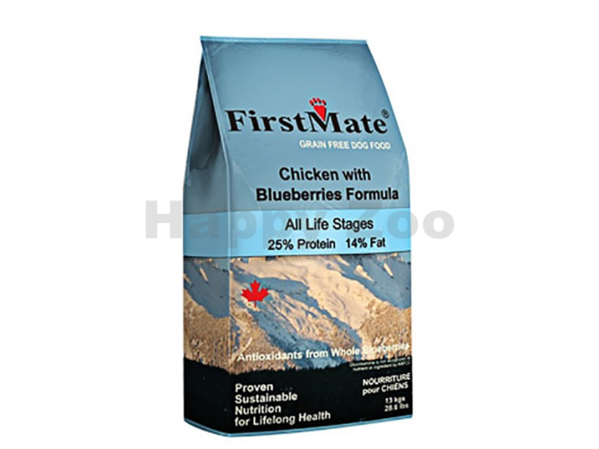 FIRST MATE Dog Chicken with Blueberries 2,3kg