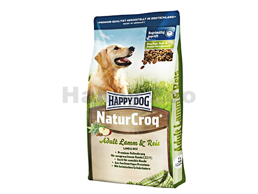 HAPPY DOG NaturCroq Lamb and Rice 15kg