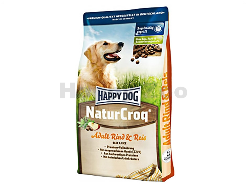 HAPPY DOG NaturCroq Rind and Rice 15kg
