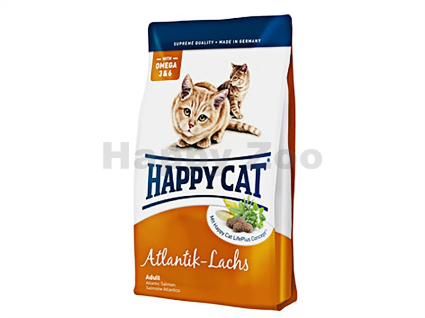 HAPPY CAT Supreme Fit and Well Atlantik Lachs 4kg
