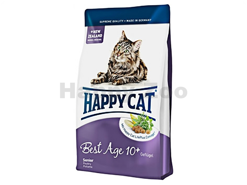 HAPPY CAT Supreme Fit and Well Best Age 10+ 4kg