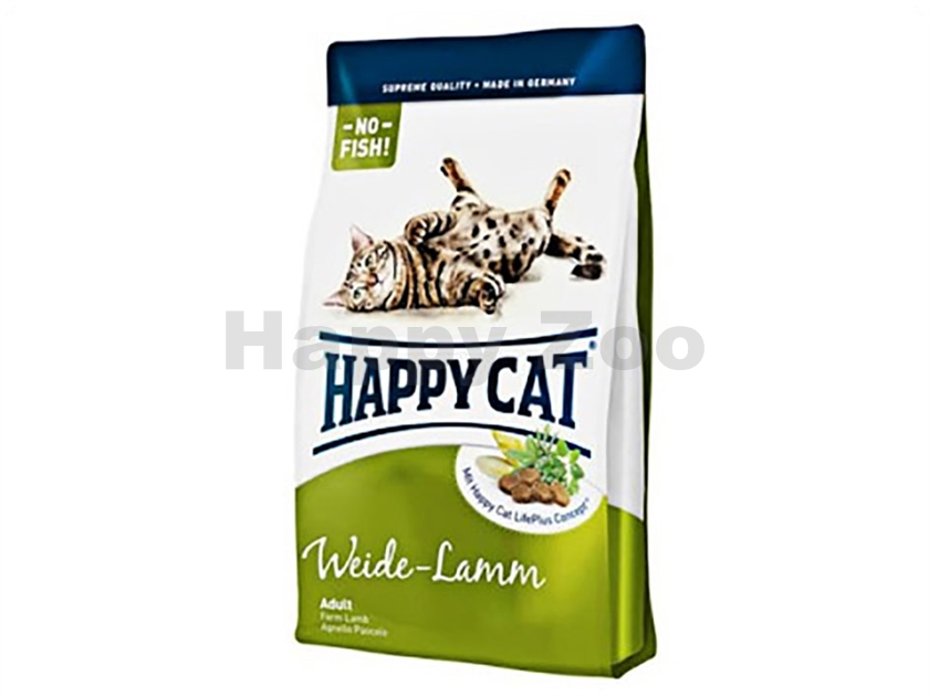 HAPPY CAT Supreme Fit and Well Weide Lamm 10kg