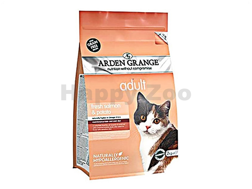 ARDEN GRANGE Cat Adult Salmon 4kg