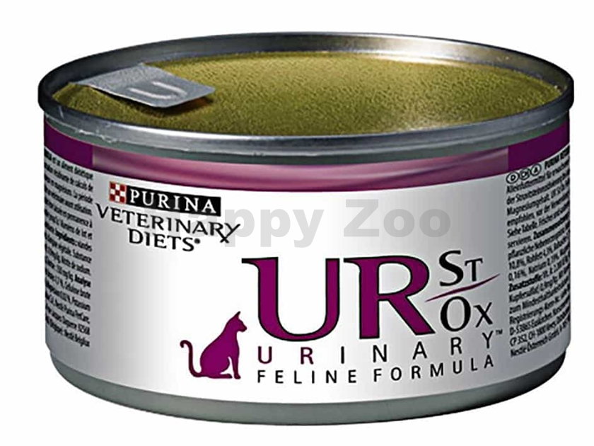 Konzerva PURINA PRO PLAN VD Feline - UR Urinary St/Ox Turkey 195