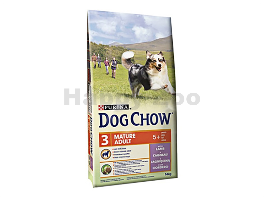 PURINA Dog Chow Adult Mature Lamb and Rice 14kg
