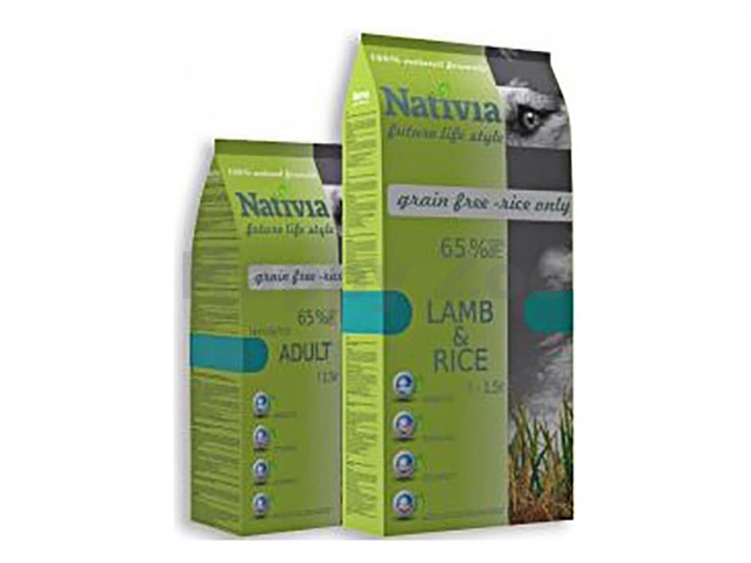 NATIVIA Adult Lamb and Rice 15kg