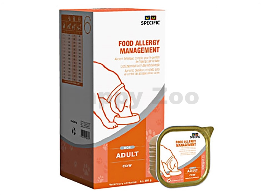 Paštika SPECIFIC CDW Food Allergy Management 6x300g