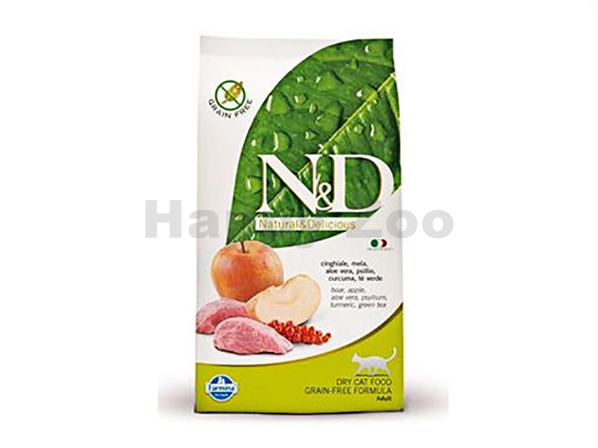 N&D Grain Free Prime Cat Adult Boar & Apple 1,5kg