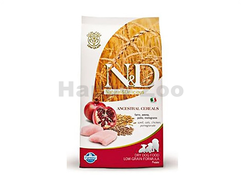 N&D Low Grain Dog Puppy Mini Chicken & Pomegranate 800g
