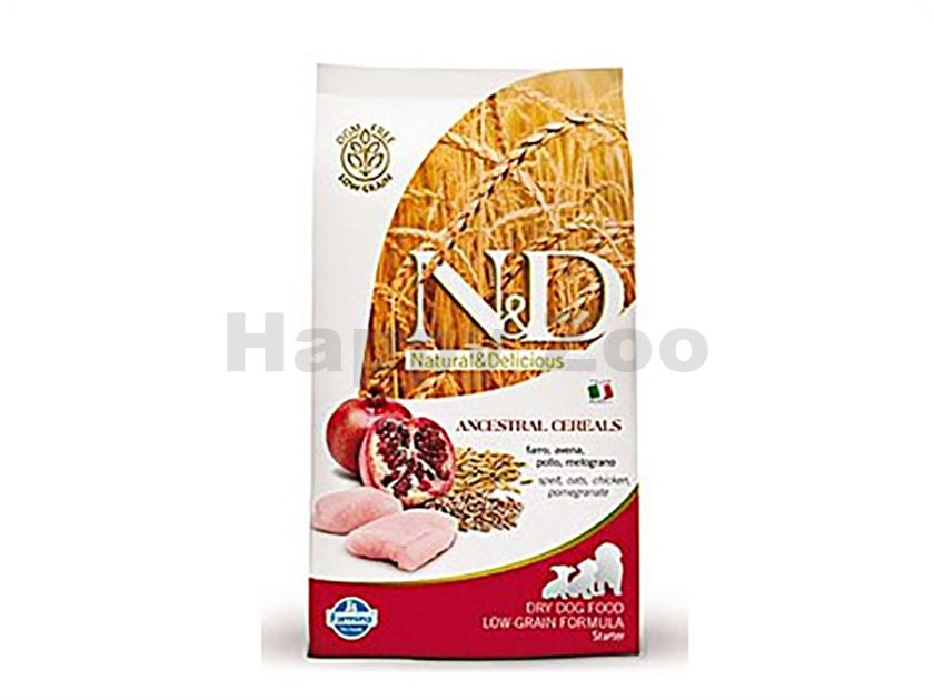 N&D Low Grain Dog Puppy Starter Chicken & Pomegranate 800g