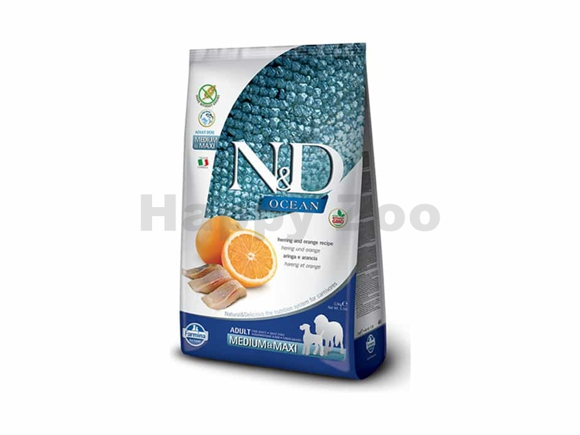 N&D Grain Free Ocean Cat Adult Herring & Orange 1,5kg
