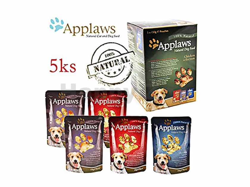 Multipack kapsička APPLAWS Dog 5x150g