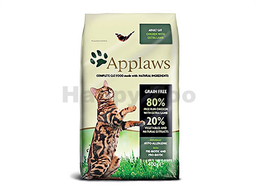 APPLAWS Cat Adult Chicken & Lamb 400g