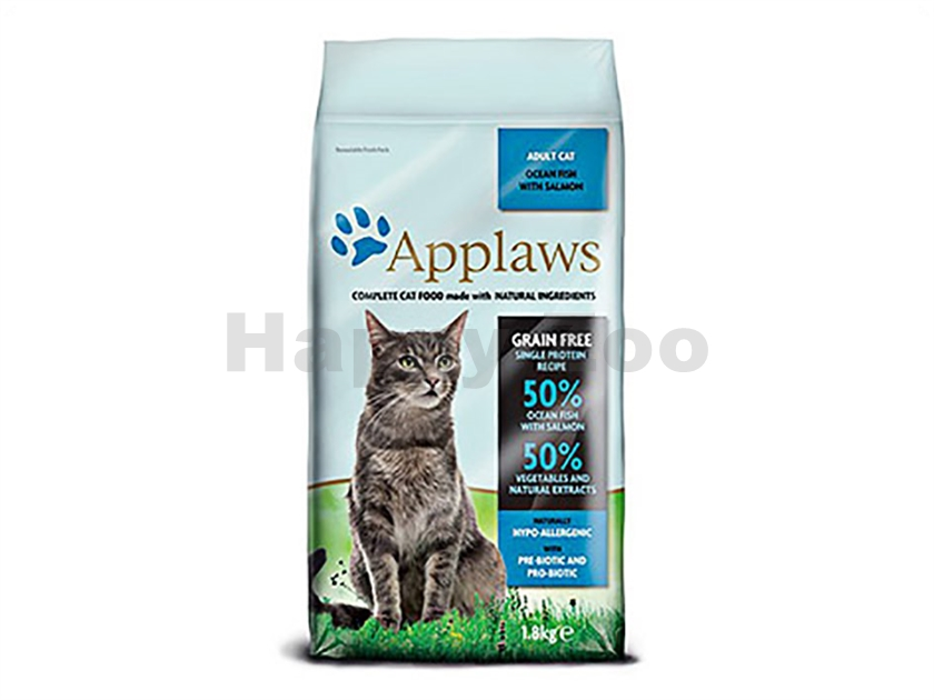 APPLAWS Cat Ocean Fish & Salmon 1,8kg