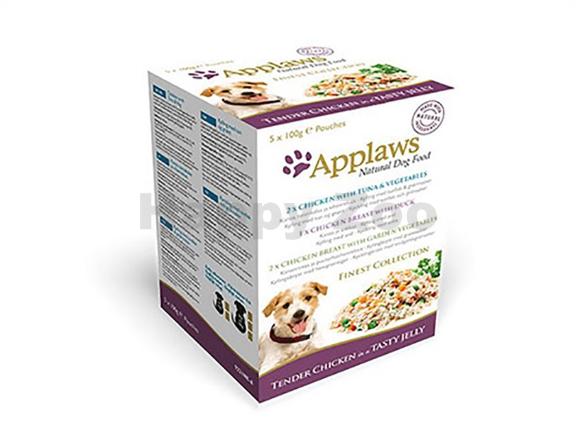 Multipack kapsička APPLAWS Dog - Jelly Finest Collection 5x100g