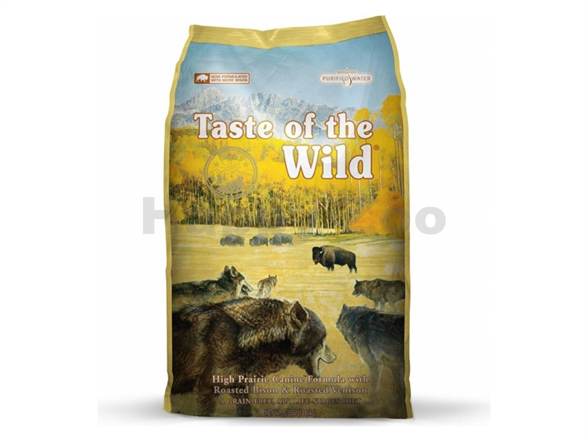 TASTE OF THE WILD Canine High Prairie 13kg