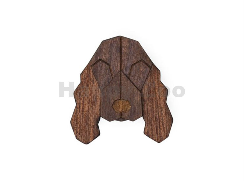 BEWOODEN Cocker Spaniel Brooch