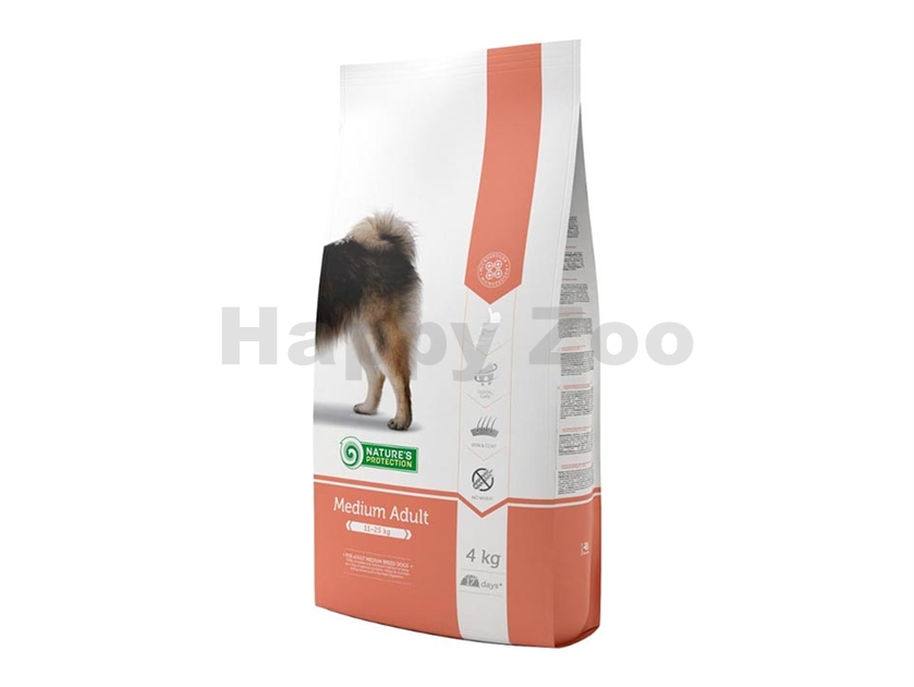 NATURE´S PROTECTION Dog Adult Medium 4kg
