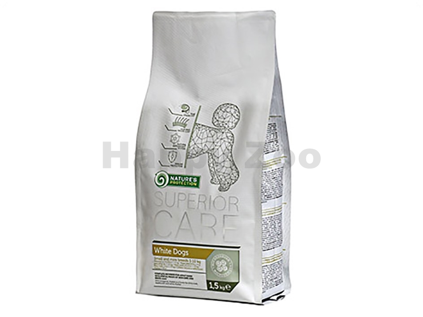 NATURE´S PROTECTION Dog Superior Adult White 1,5kg
